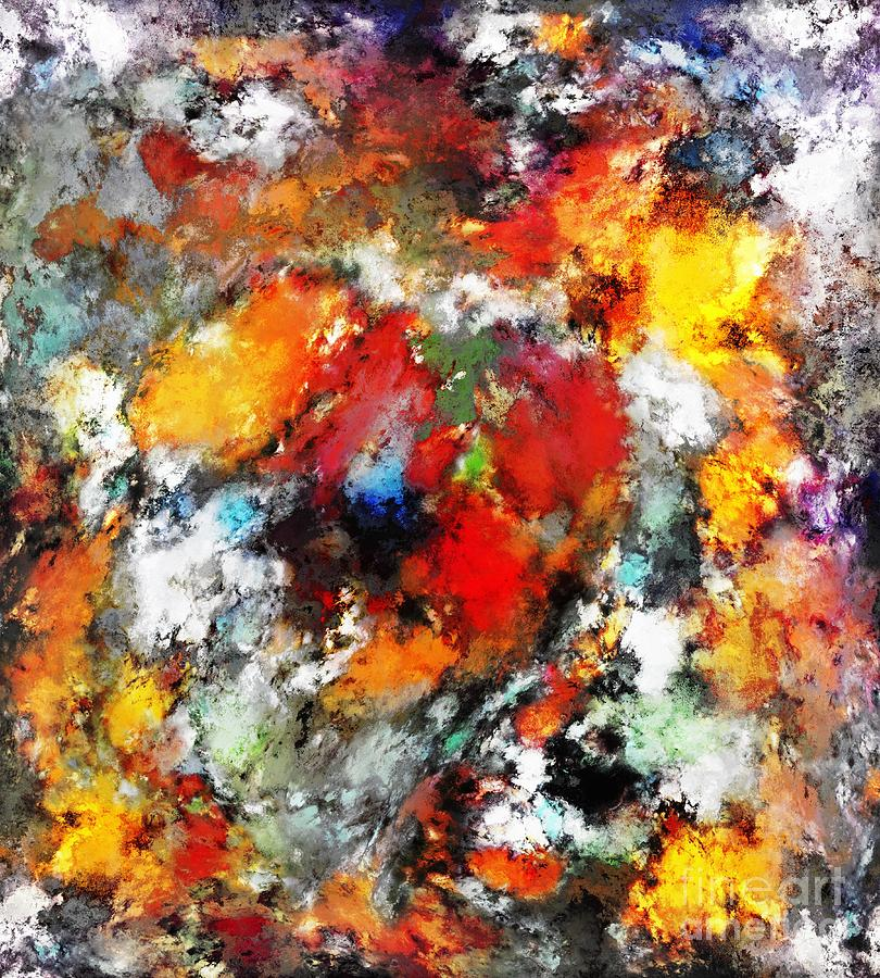 Red Digital Art - Devastator by Keith Mills