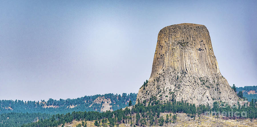 Devil Photograph - Devils Tower by Dheeraj Mutha