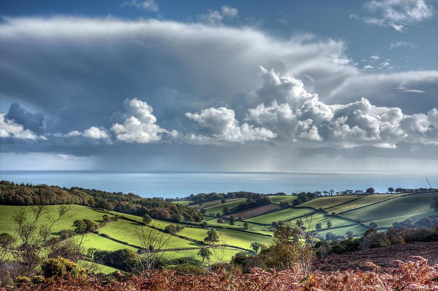 Devon Landscape & Cloudscape Photograph by Landscapes, Seascapes, Jewellery & Action Photographer