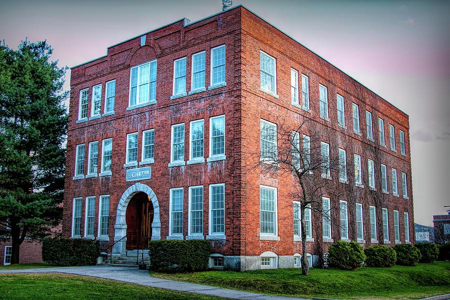 Dewey Hall Norwich University by Jeff Folger