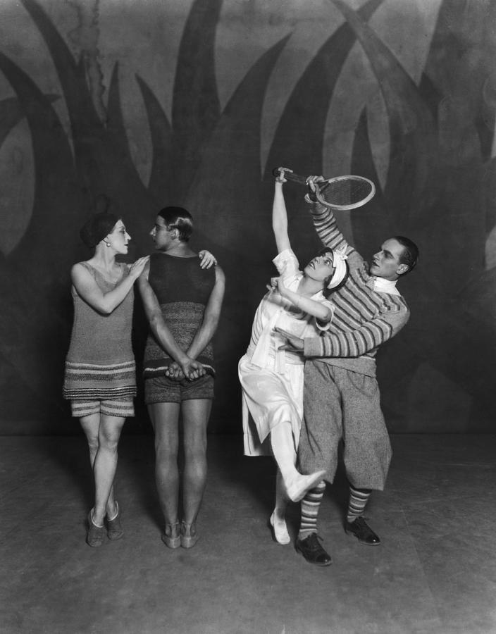 Diaghilev Ballet Photograph by Sasha