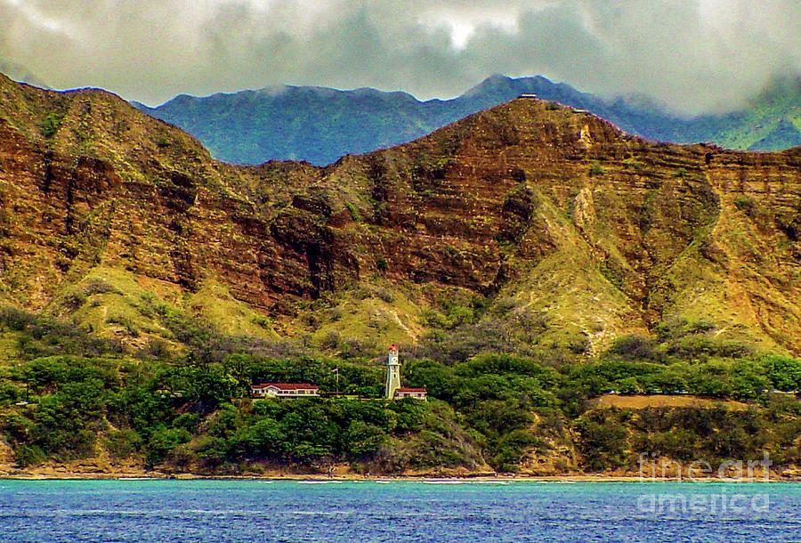 Diamond Head Lighthouse at Diamond Head Crater by D Davila