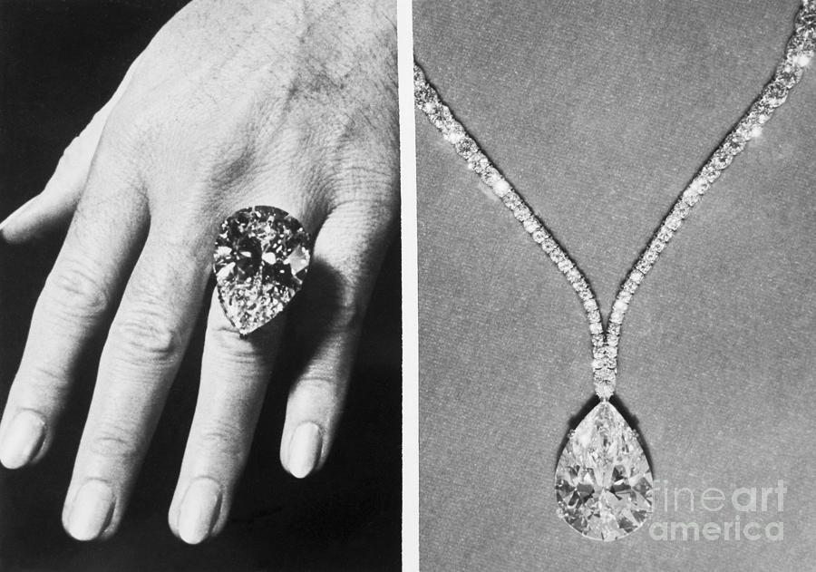 Diamond Ring And Pendant Photograph by Bettmann