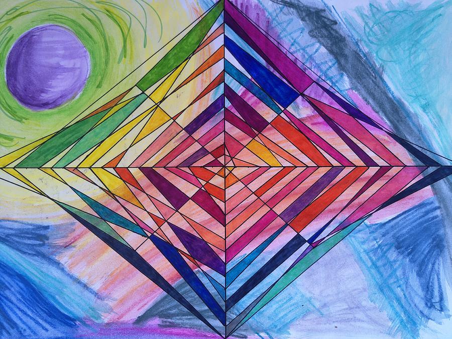 Diamond Web by Elizabeth Anne
