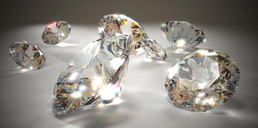 Diamonds Photograph by Mevans