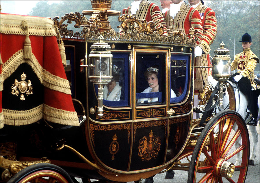 Diana And The Queen Photograph by Princess Diana Archive