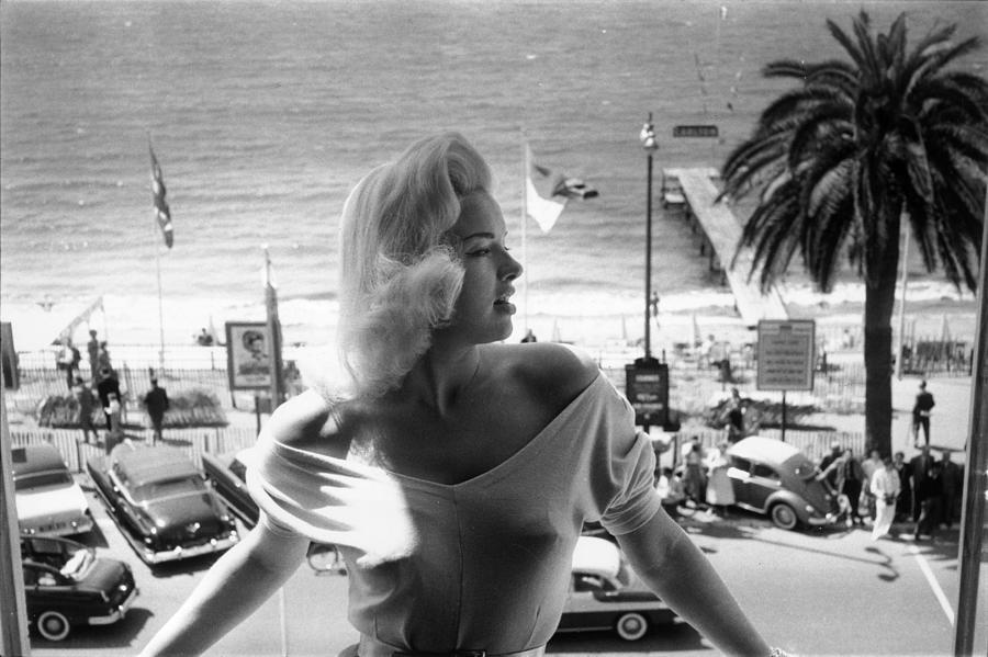 Diana Dors Photograph by John Chillingworth