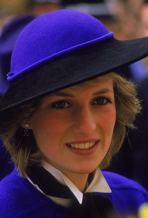 Diana In Hereford Photograph by Princess Diana Archive