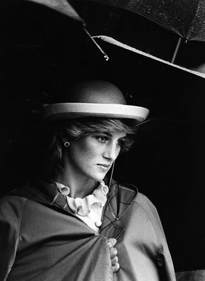 Diana In Rain Photograph by Hulton Archive