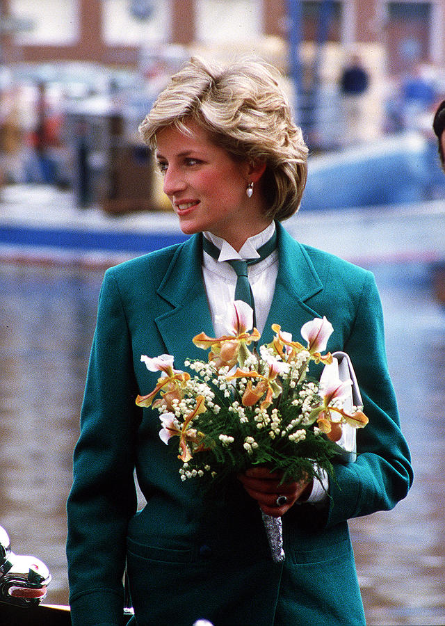 Diana Leaves Livorno Photograph by Princess Diana Archive