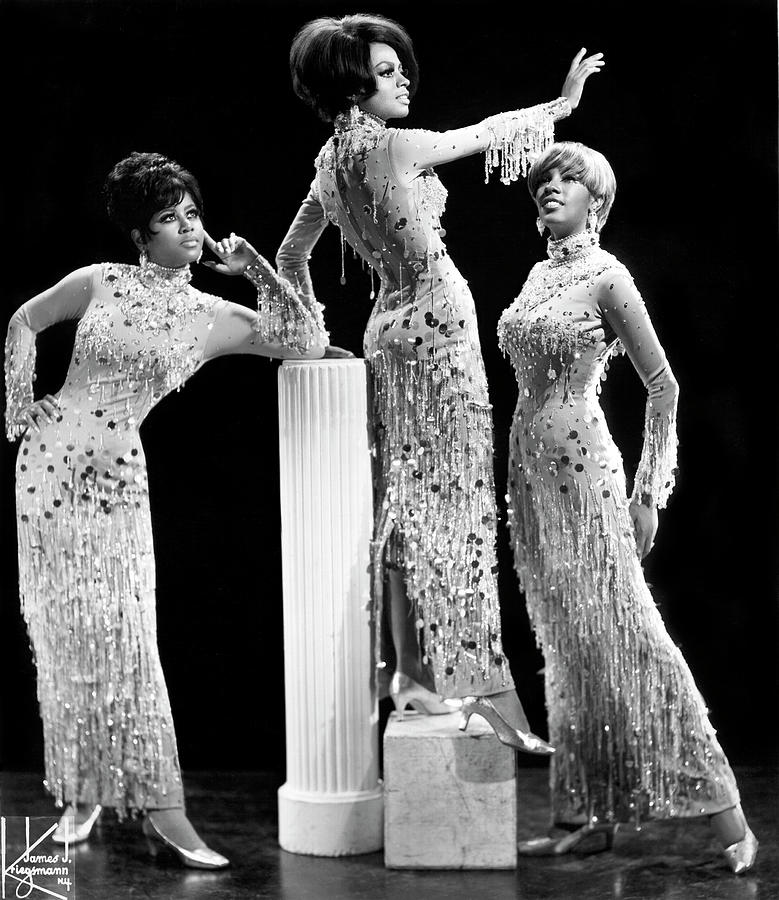 Diana Ross And The Supremes Photograph by Michael Ochs Archives