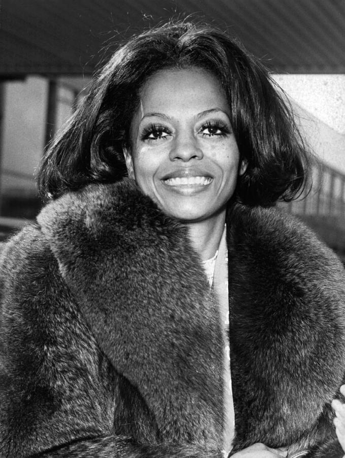 Diana Ross Photograph by Central Press