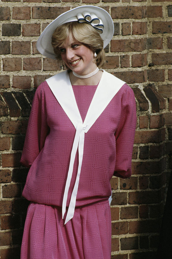 Diana Wedding Guest Photograph by Princess Diana Archive