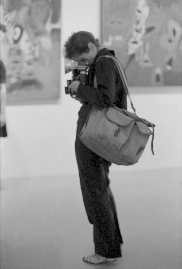 Diane Arbus At The Whitney Photograph by Fred W. McDarrah