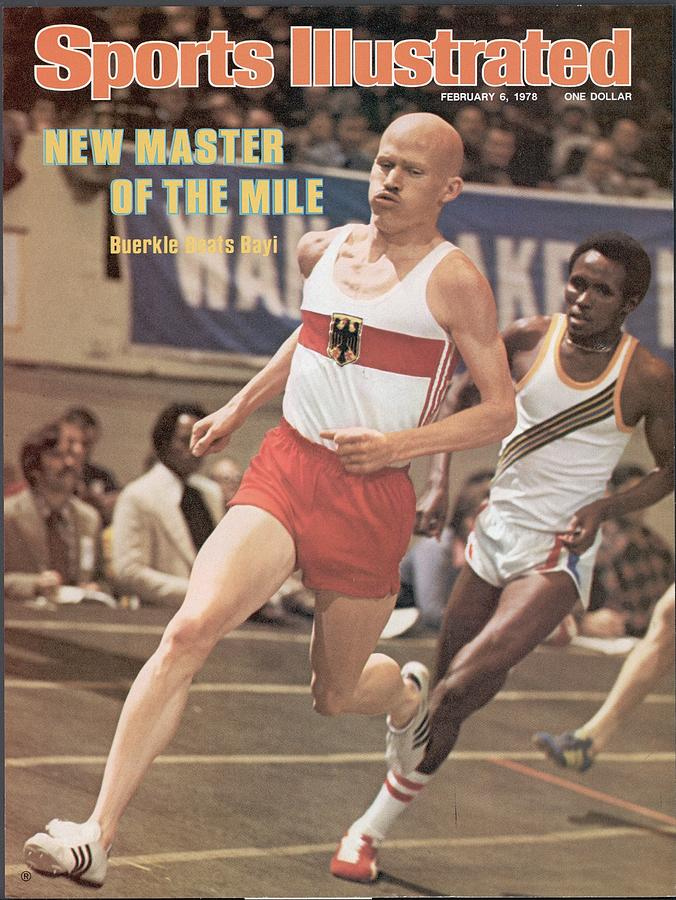 Dick Buerkle, 1978 Millrose Games Sports Illustrated Cover Photograph by Sports Illustrated