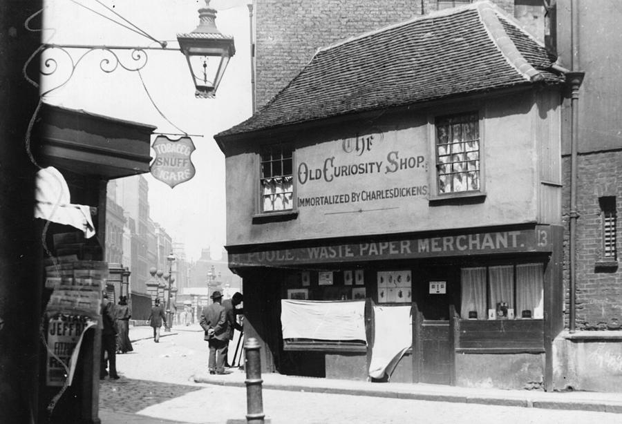 Dickens Shop Photograph by F. J. Mortimer
