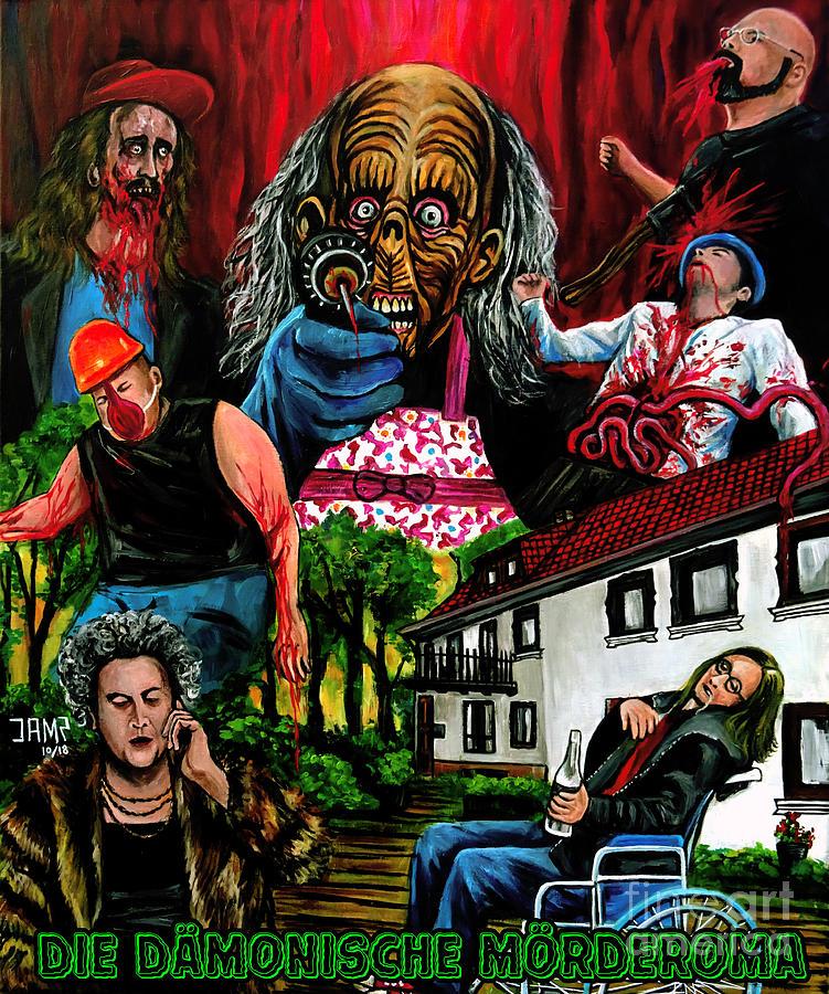 Germany Painting - Die Damonische Morderoma by Jose Mendez