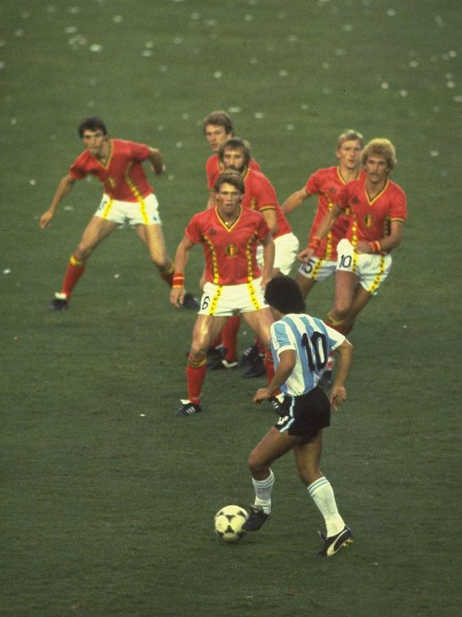 Diego Maradona Photograph by Steve Powell