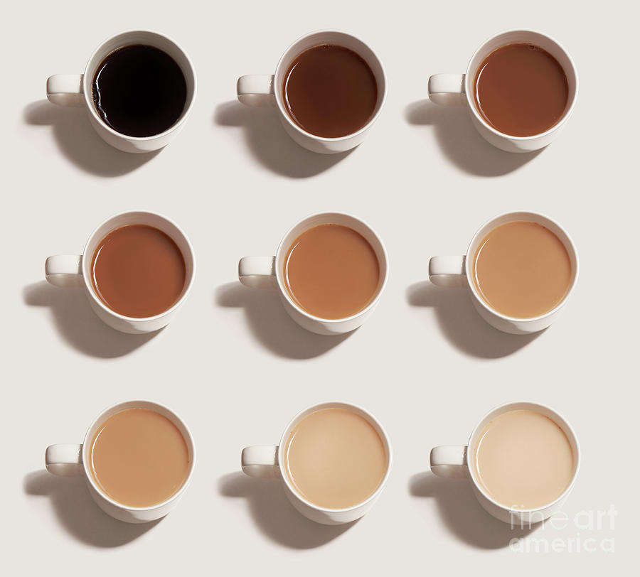 Different Choices Of Tea And Coffee Photograph by Tara Moore
