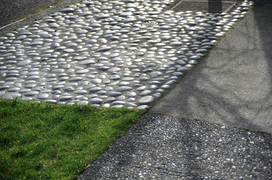Different Textures Of Sidewalk, And Photograph by Aaron Mccoy