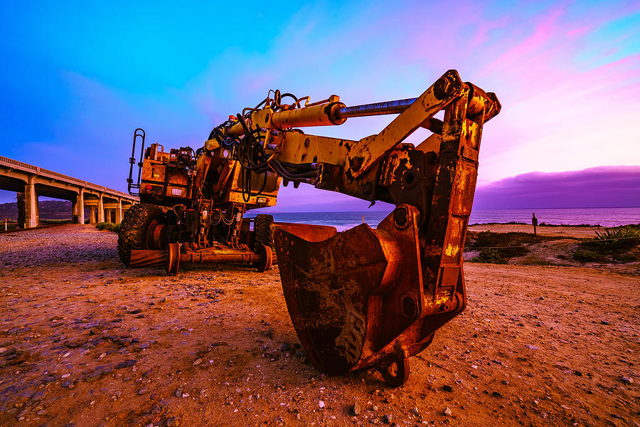 Dig Photograph - Dig, Dug In San Diego by McClean Photography