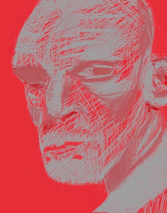 Man Digital Art - Digi-man by Marty Klar