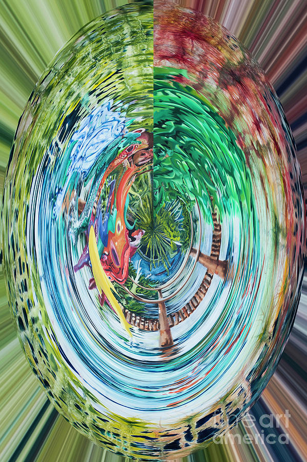 Digital I - Fish Digital Art
