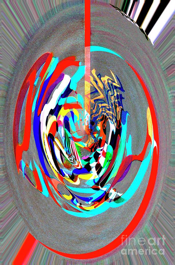 Digital II - Stage Dancer by James Lavott