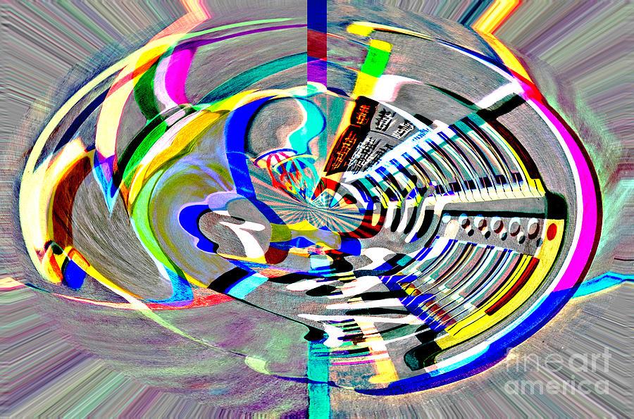 Digital II The Organist by James Lavott
