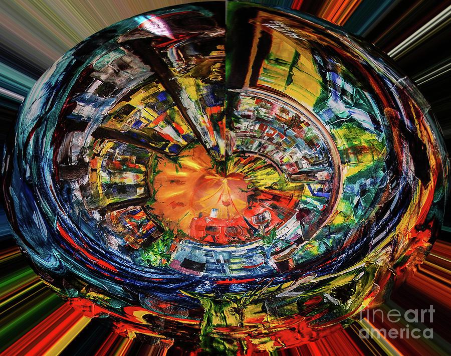 Digital The Sangria Jug by James Lavott
