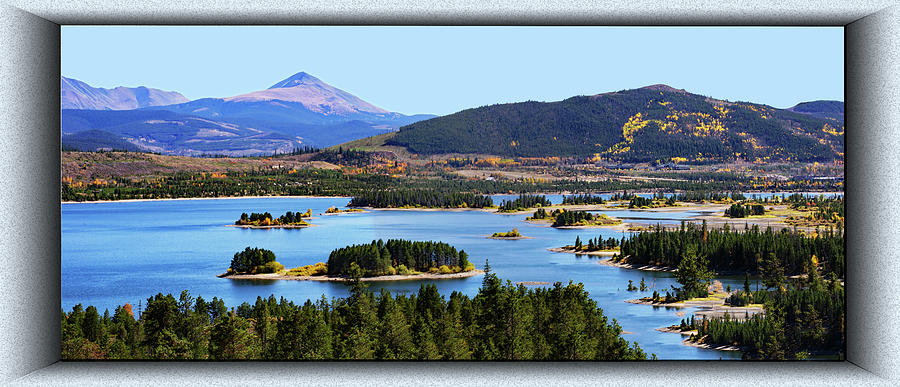 Dillon Lake Panorama by Richard Risely