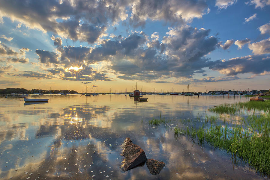 Dimmick Waterfront Scenic Vista by Juergen Roth