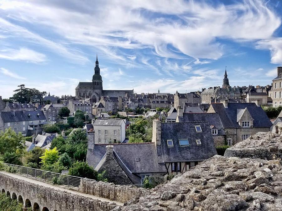 Dinan France by Curt Rush