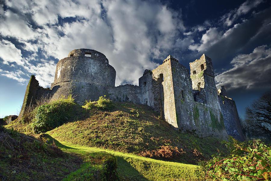 Castles Photograph - Dinefwr Castle 2 by Phil Fitzsimmons