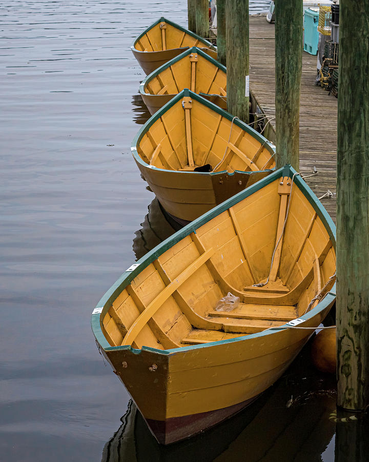 Dinghies by Ray Silva