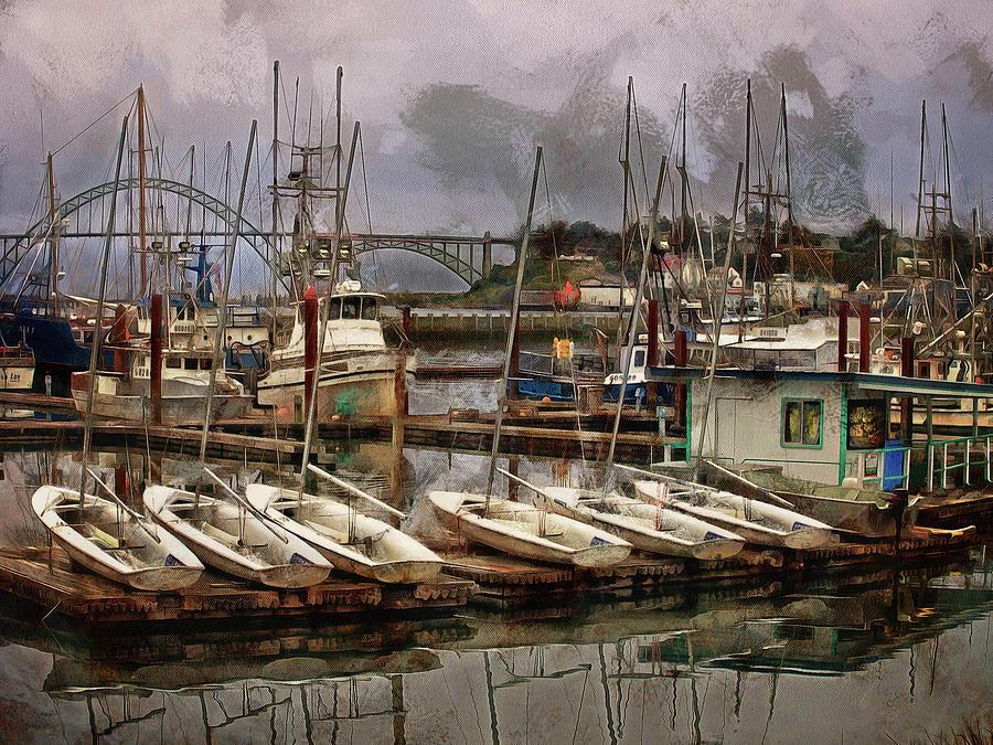 Dinghies by Thom Zehrfeld