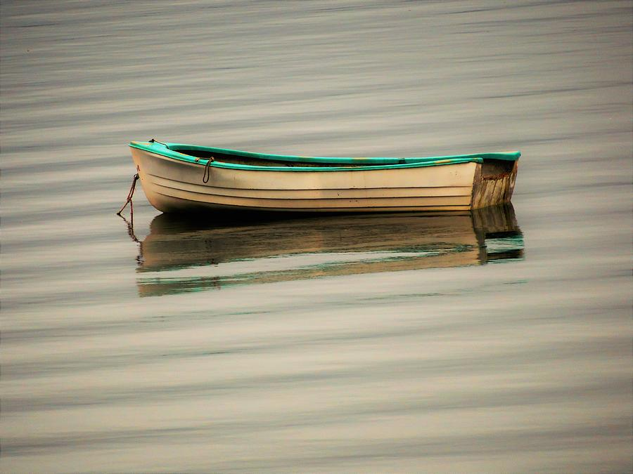 Dinghy - boat - skiff - Sequim - Washington by Marie Jamieson