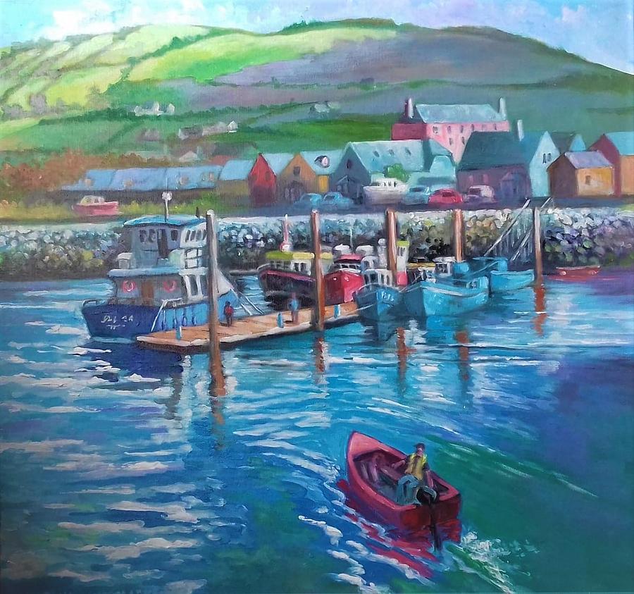DINGLE HARBOUR IRELAND by PAUL WEERASEKERA