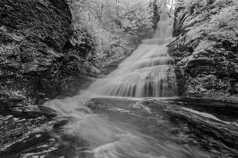 Dingmans Waterfalls DWG IR by Susan Candelario