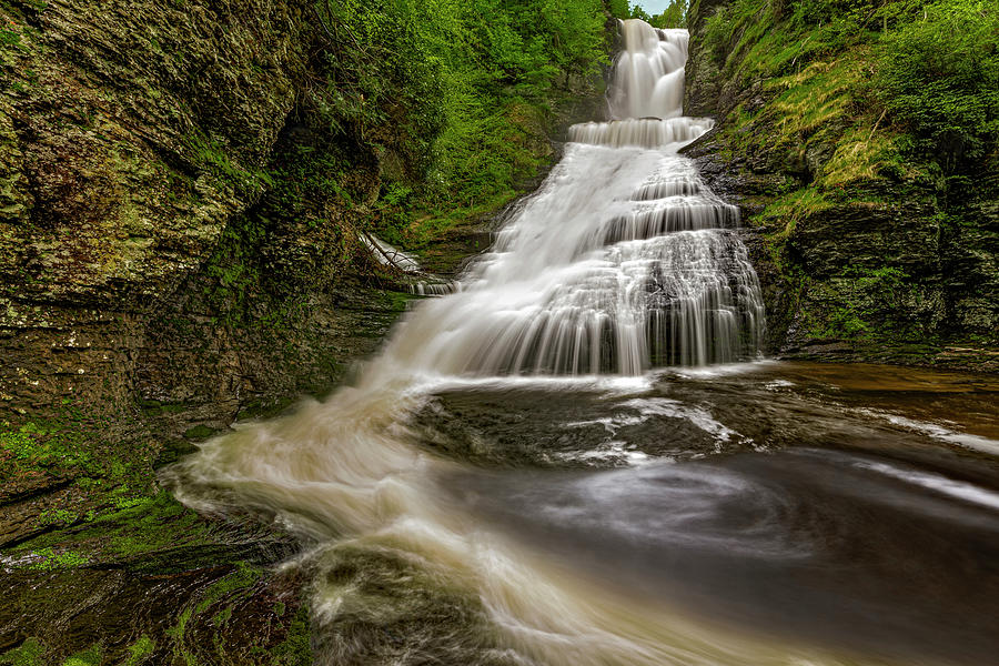 Dingmans Waterfalls DWG by Susan Candelario