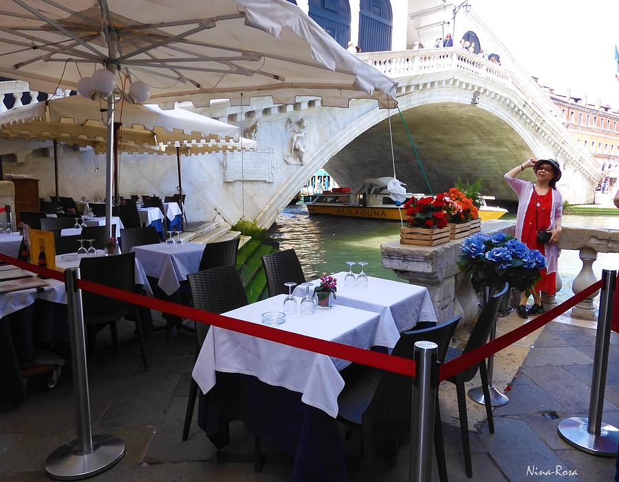 Dining by the Grande Canal by Nina-Rosa Duddy