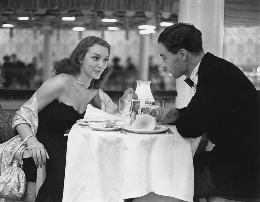 Dinner For Two Photograph by Kurt Hutton