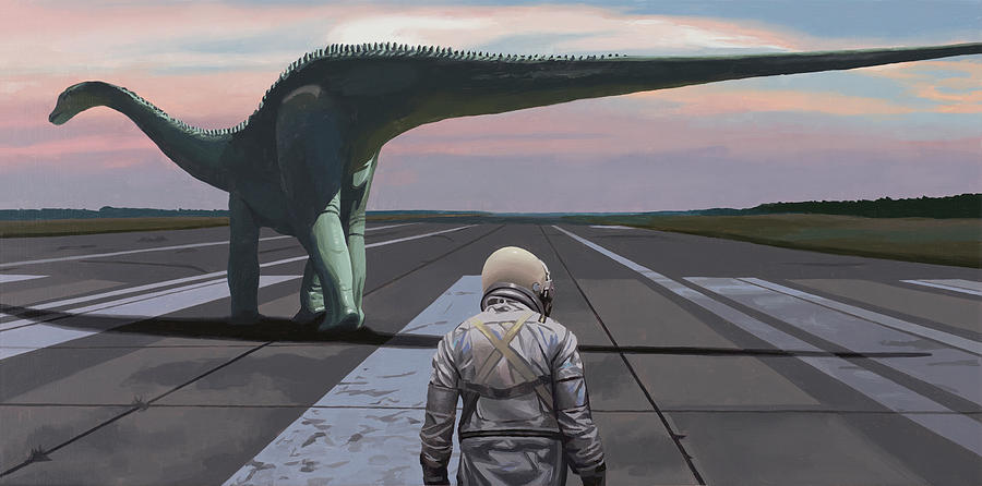 Diplodocus by Scott Listfield