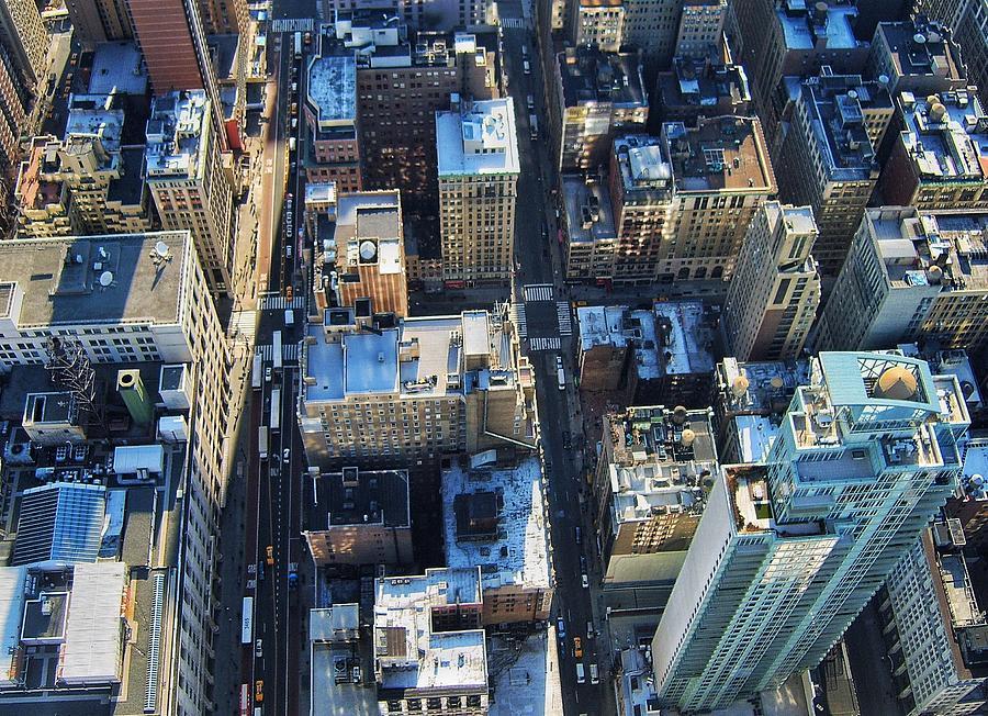 Directly Above Shot Of City Photograph by Gavin Pugh / Eyeem