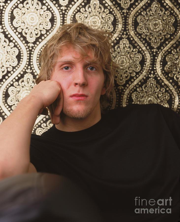 Dirk Nowitzki Photograph by Jennifer Pottheiser