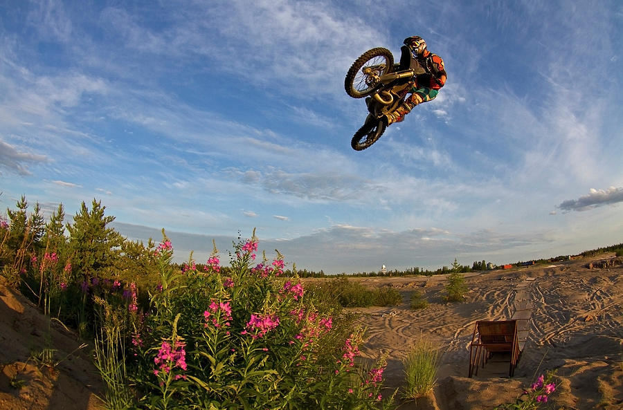 Dirt Bike Whip Photograph by Photo By Kevin Klingbeil