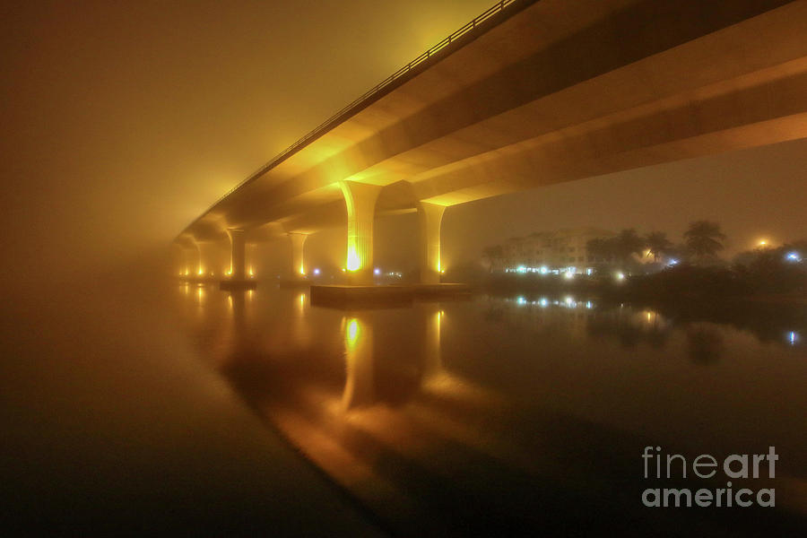 Disappearing Bridge by Tom Claud