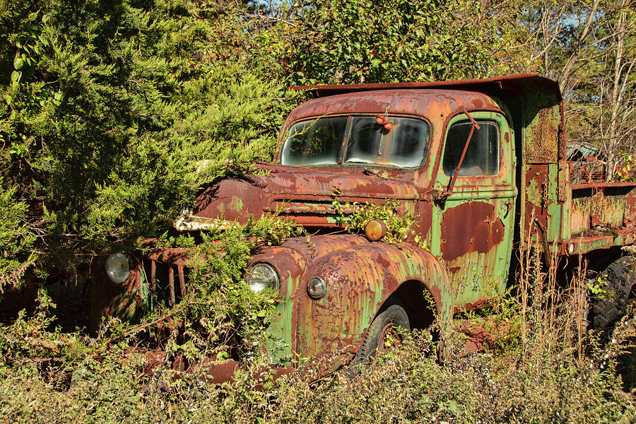 Disappearing Ford Truck by Kristia Adams