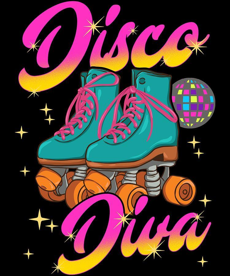 Roller Skate Poster Print Skating Decor Roller Derby Art Roller Girl Gift