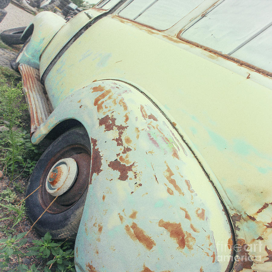 Disintegration Old Car by Nikki Vig